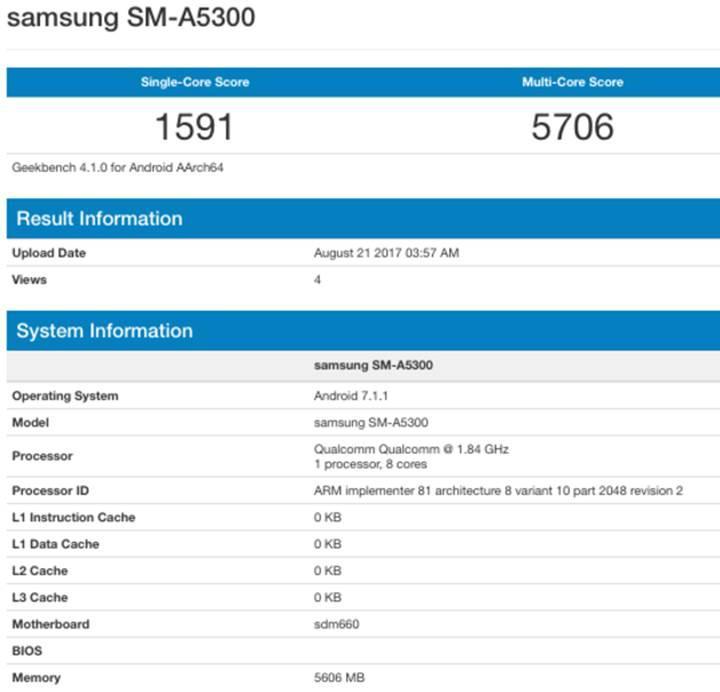 Samsung yeni Galaxy A5 için çift kamera deniyor olabilir