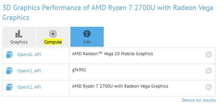 AMD'nin Raven Ridge mobil APU'ları benchmark testlerinde göründü