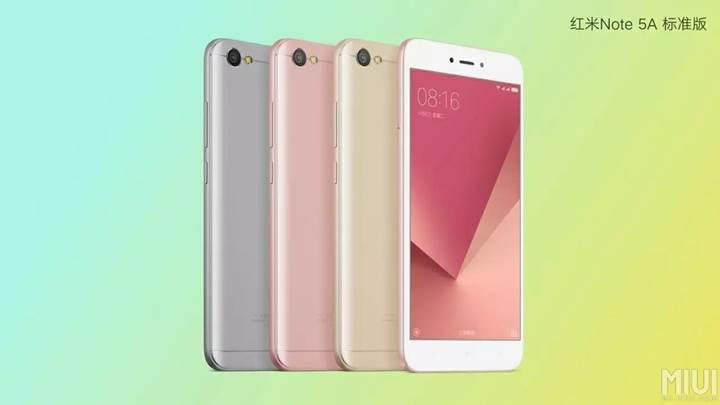 Xiaomi Redmi Note 5A resmiyet kazandı