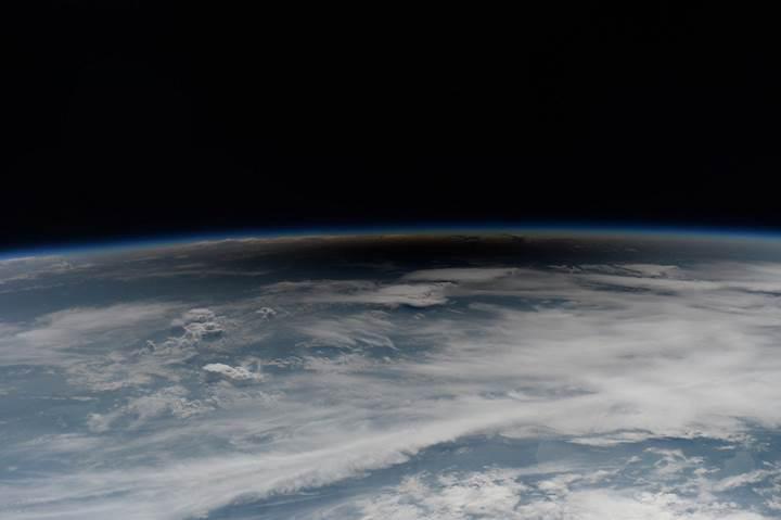 Güneş tutulması uzaydan işte böyle görüntülendi