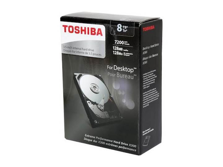 Toshiba'dan oyuncular ve profesyoneller için 8TB'lık sabit disk