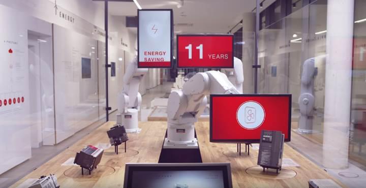 Mitsubishi Electric'in robotu 'Gümüş Aslan' ödülüne layık görüldü