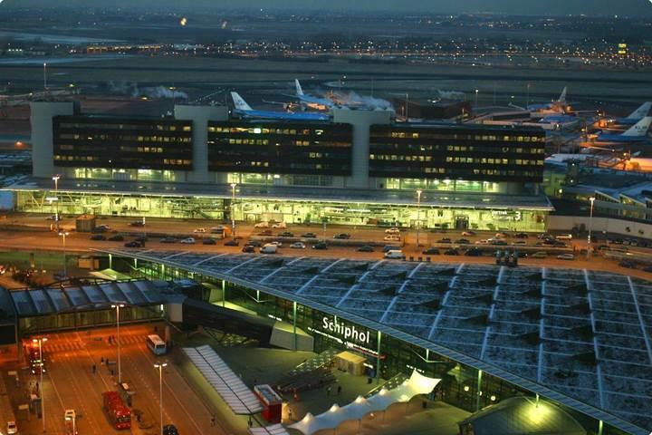 Hollanda'nın havaalanları tamamen yenilenebilir enerjiden güç alacak