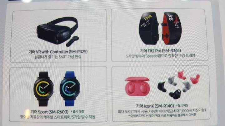 Samsung Gear Sport göründü
