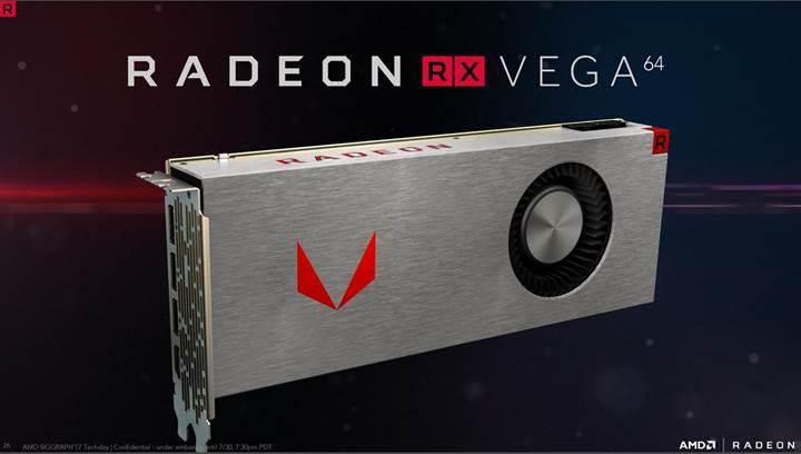 AMD toplam 25,000 Radeon RX Vega ekran kartı sattı