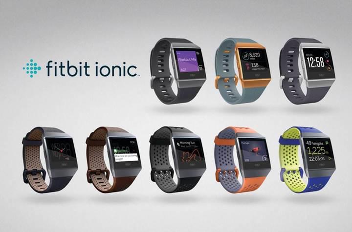 Fitbit akıllı saatini tanıttı: Fitbit Ionic