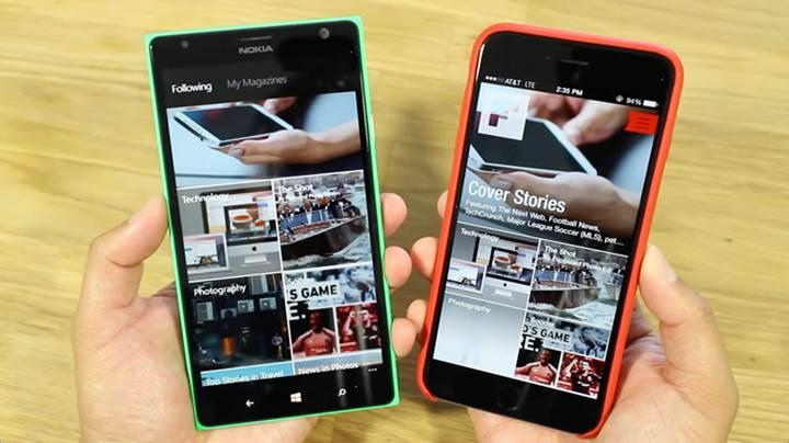 Windows telefonlara son darbe Flipboard'dan geldi