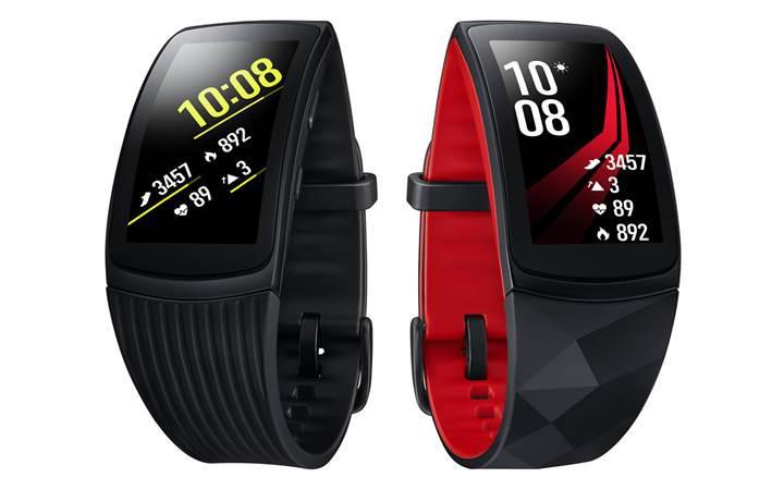 Samsung Gear Fit 2 Pro artık resmi