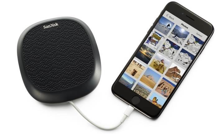 iOS cihazlarınız için 256GB SanDisk iXpand Base