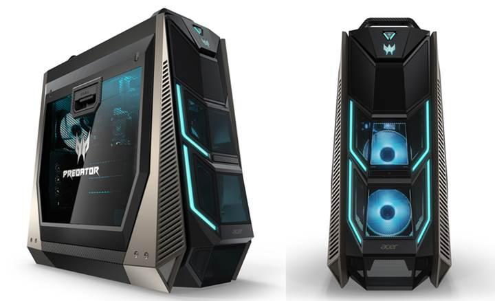 Acer'dan 18 çekirdekli ve 4 ekran kartlı oyuncu bilgisayarı