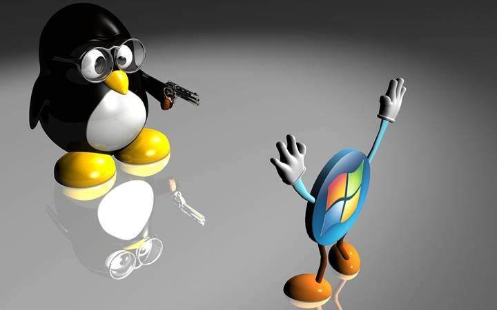 Linux kullanım oranı ikiye katlandı