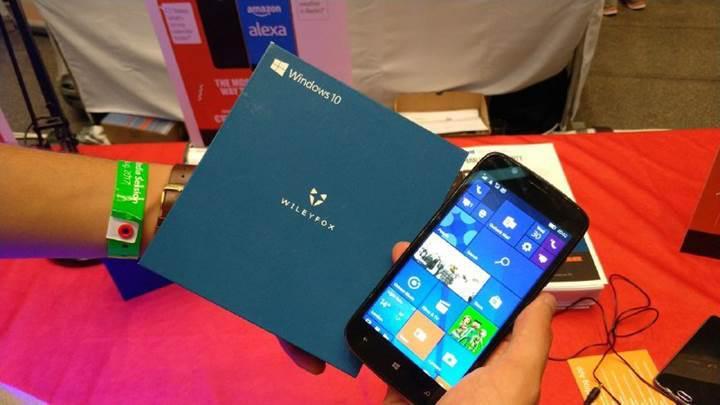 Microsoft'un Windows telefonlara olan inancı sürüyor: Wileyfox Pro duyuruldu