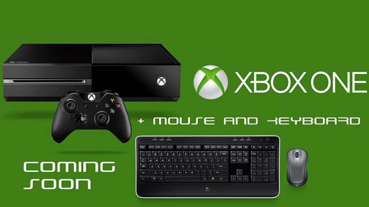 Xbox One'a çok yakında klavye ve fare desteği geliyor