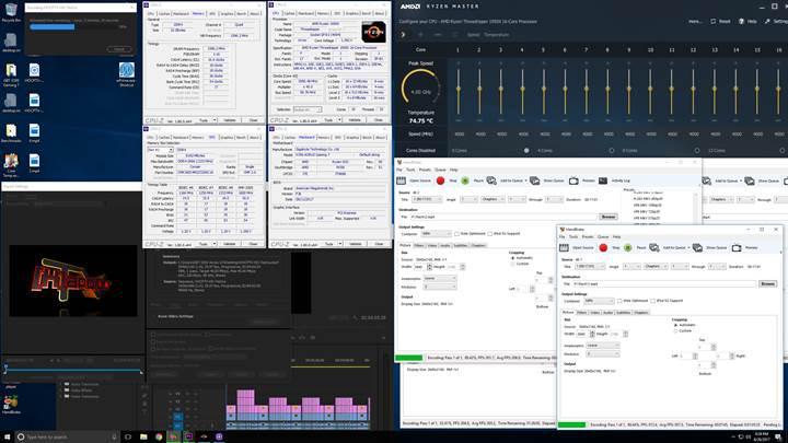 Ryzen Threadripper 1950X 4.0 GHz'de Blender testine girdi:İşte sonuçlar