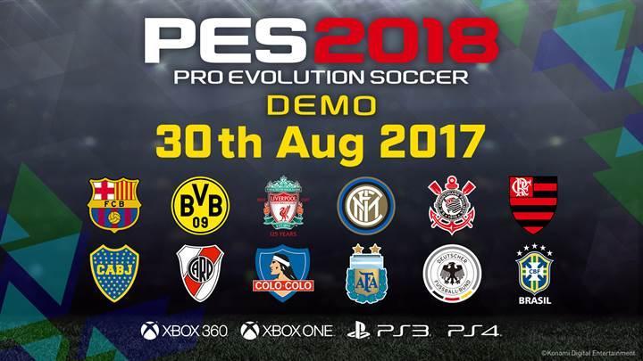 PES 2018'in PC Demosu Eylül Ortasında Çıkacak