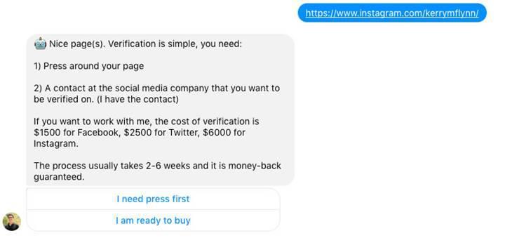 Instagram'da hesap onaylatma karaborsaya düştü: Onay tiki 15.000 dolara alıcı buluyor