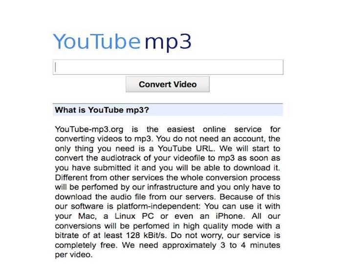 YouTube MP3 platformu için kapatılma kararı