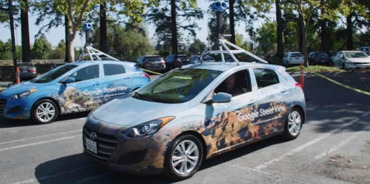 Google, Street View'i daha iyi kameralar ve AI ile geliştiriyor