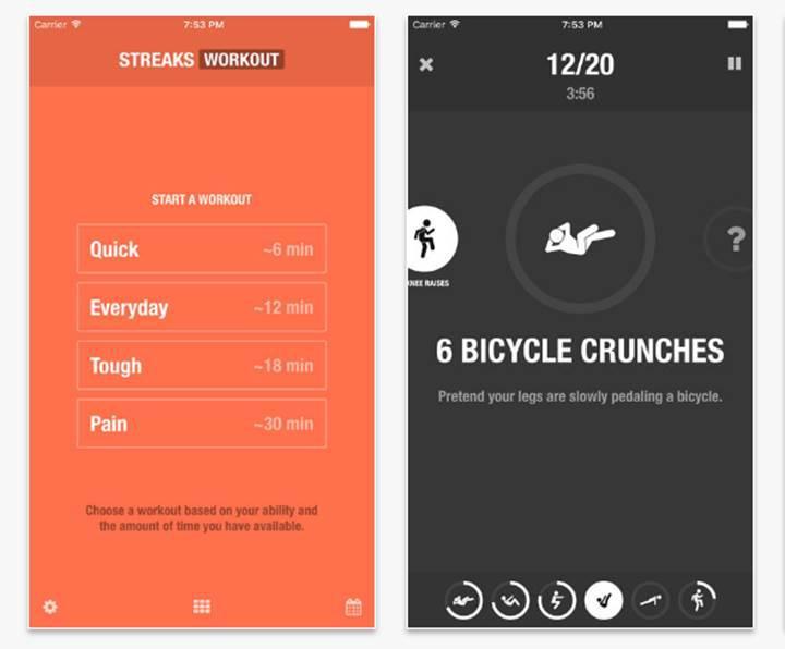 App Store'da haftanın ücretsizi: Streaks Workout