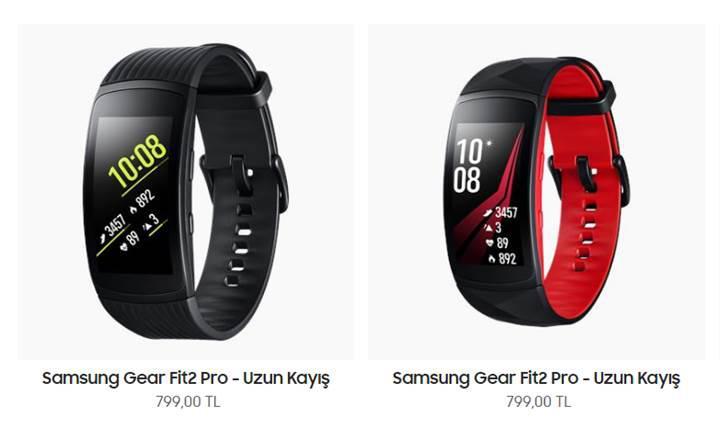 Samsung Gear Fit 2 Pro, Türkiye'de ön siparişe açıldı