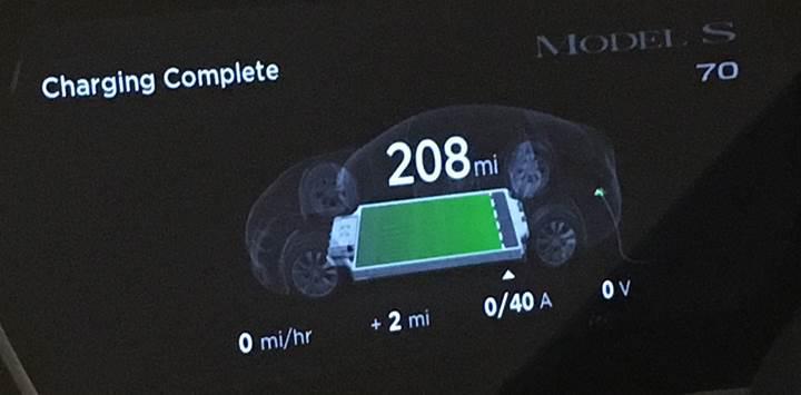 Tesla, müşterilerin kasırgadan kaçması için batarya kapasitelerini yazılım güncellemesiyle artırdı