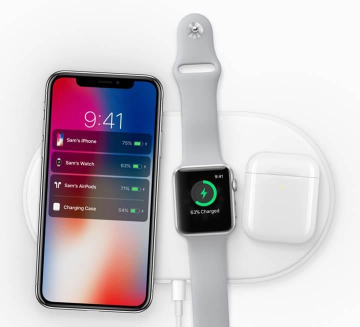 iPhone, Apple Watch ve AirPods'a kablosuz şarj desteği geldi