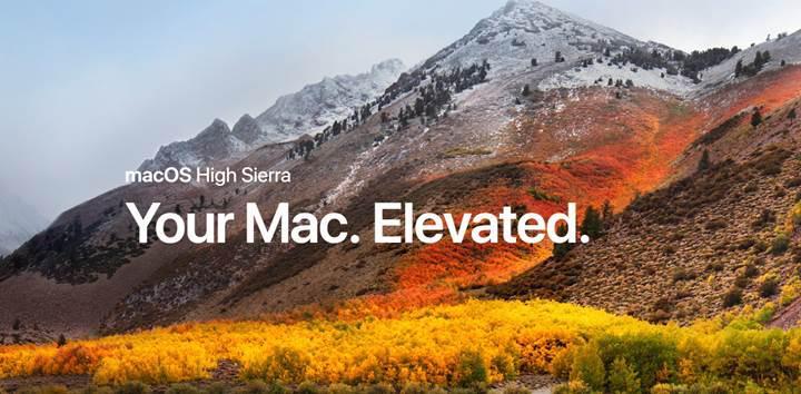 macOS High Sierra, 25 Eylül'de yayınlanacak