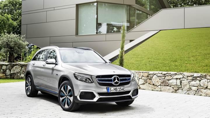 Mercedes hidrojen yakıtlı yeni prizli hibrit bir GLC versiyonu duyurdu