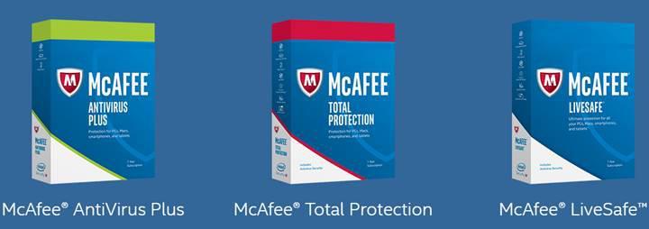 McAfee'nin ürün portföyü güçlendi