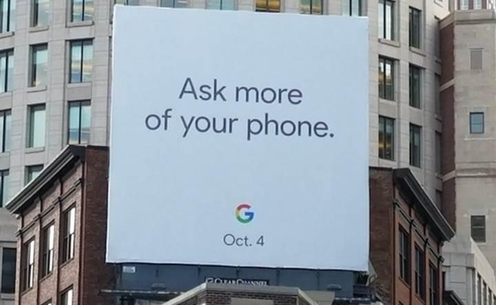 Yeni Pixel serisi 4 Ekim tarihinde görücüye çıkıyor
