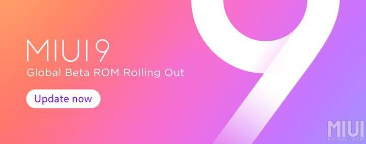 Xiaomi telefonlar için MIUI 9 Global Beta 7.9.7 yayınlandı
