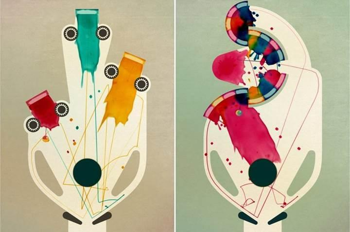 "Sanatsal Pinball oyunu ""INKS"" App Store'da ücretsiz"