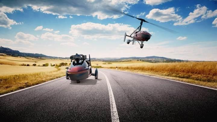 PAL-V'nin uçan arabası dünya turuna çıkacak
