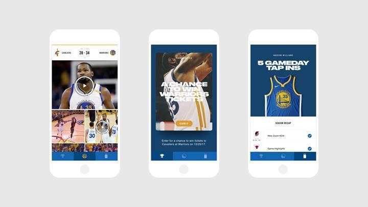 NIKE, NBA'in ilk dijital bağlantılı taraftar formasını tanıttı