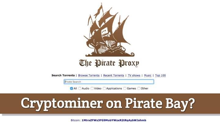 The Pirate Bay'in kullanıcıların CPU'ları üzerinden dijital para ürettiği ortaya çıktı