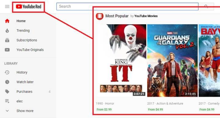 Reklamsız YouTube Red reklam göstermeye başladı