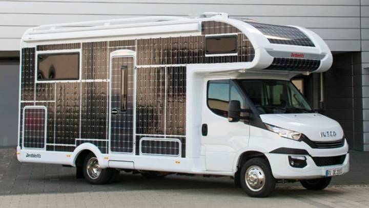 İlk elektrikli karavanlar gün yüzüne çıkmaya başladı