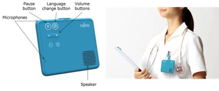 Fujitsu'dan dünyanın ilk giyilebilir anlık sesli çeviri cihazı