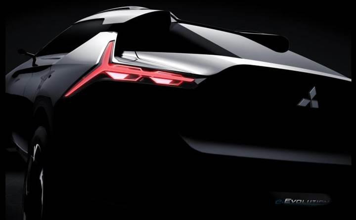 Mitsubishi'nin e-Evolution konseptine ait ilk görüntü ortaya çıktı