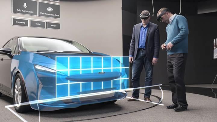 Ford marka araçlar HoloLens ile tasarlanmaya başladı