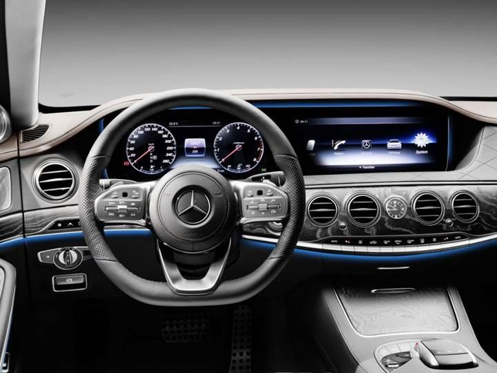 Yenilenen Mercedes-Benz S-Serisi Türkiye'de satışa sunuldu