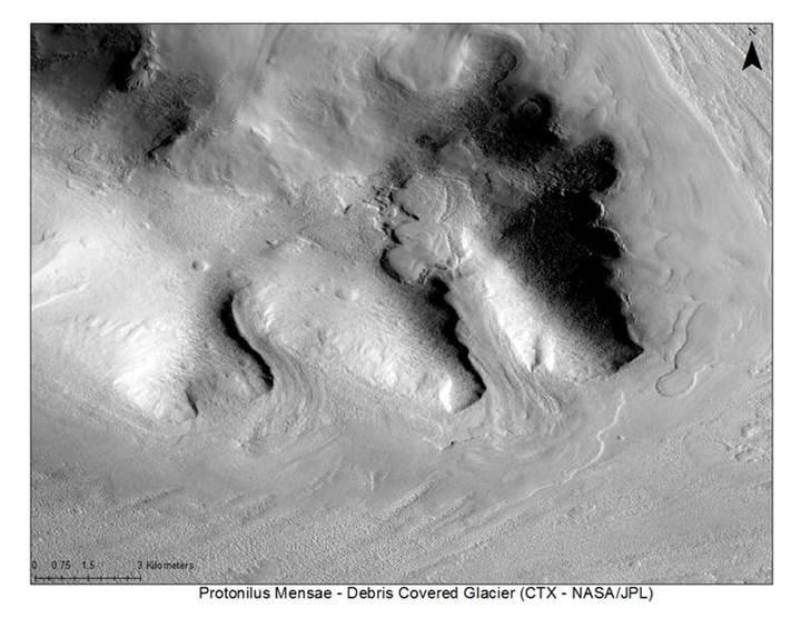 Mars'taki buzul yatakları kolonilerin su ihtiyacını karşılayabilir mi?