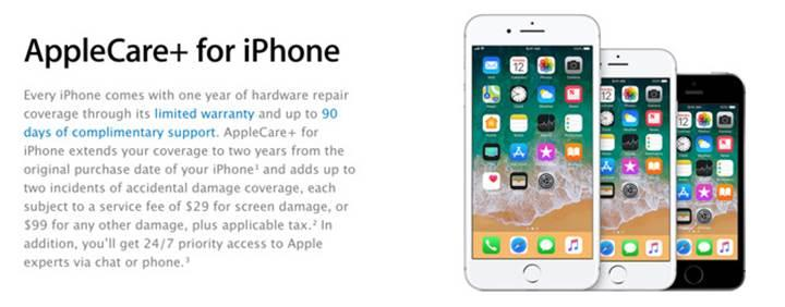 iPhone 8'deki cam arka panelin değişimi, ekrandan daha pahalı