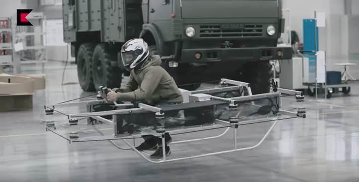 Rus silah devi Kalashnikov Concern, uçan aracını tanıttı