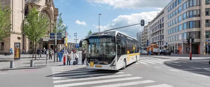 Volvo'nun 7900 elektrikli otobüs modeli Norveç'te hizmet vermeye başlayacak