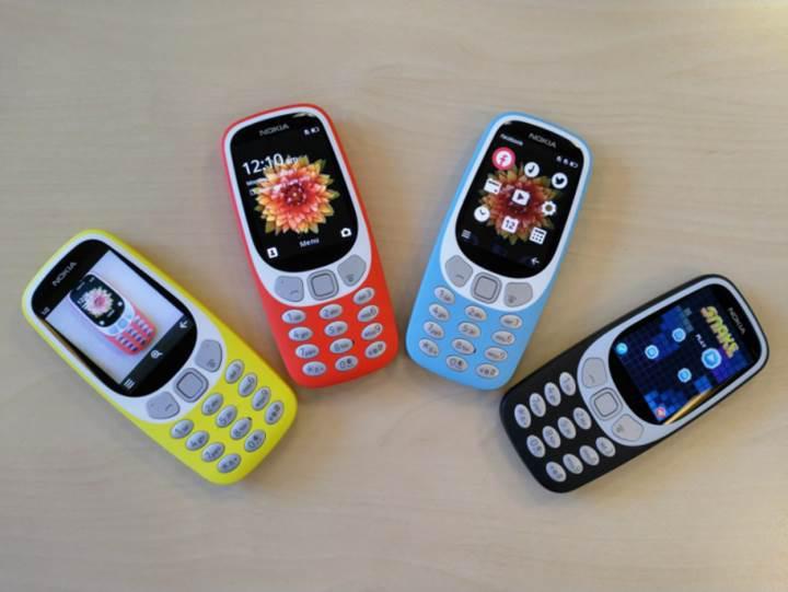 Efsane artık 3G'li: Nokia 3310 3G, resmi olarak tanıtıldı