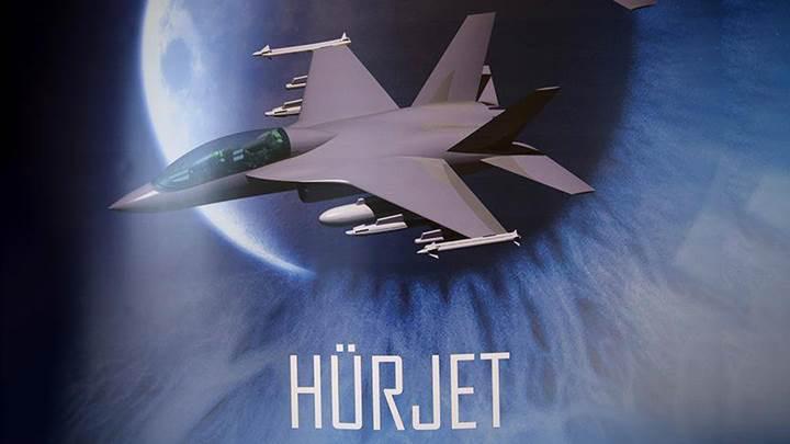 Hürkuş'un jet motorlu modelinin kavramsal tasarımı yayınlandı