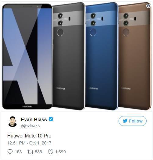 Huawei Mate 10, gerçek bir AI deneyimi sunacak