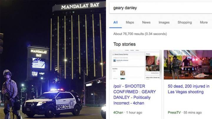 Las Vegas saldırısında Google'ın arama algoritmaları çuvalladı