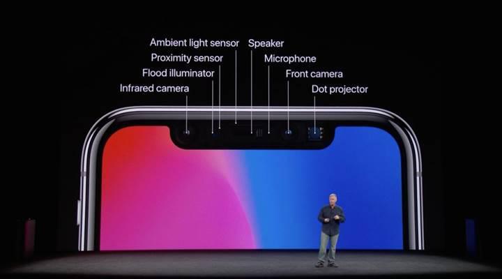 """""""iPhone X derinlik kamerası rakiplerin 2.5 yıl önünde"""""""